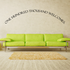 One hundred thousand welcomes Wall Decal