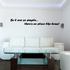 Be it ever so simple there no place like home Wall Decal