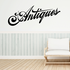 Antiques Wall Decal - Vinyl Decal - Car Decal - Business Sign - MC19