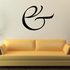 And Symbol Wall Decal - Vinyl Decal - Car Decal - Business Sign - MC31