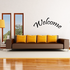 Welcome Arched Decal