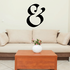 And Symbol Wall Decal - Vinyl Decal - Car Decal - Business Sign - MC39