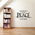 He is happiest be he king or peasant Wall Decal
