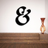 And Symbol Wall Decal - Vinyl Decal - Car Decal - Business Sign - MC44