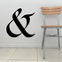 And Symbol Wall Decal - Vinyl Decal - Car Decal - Business Sign - MC50