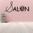 Salon Wall Decal - Vinyl Decal - Car Decal - Business Sign - MC59