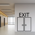 Exit Wall Decal - Vinyl Decal - Car Decal - Business Sign - MC64