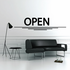 Open Wall Decal - Vinyl Decal - Car Decal - Business Sign - MC74