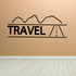 Travel Wall Decal - Vinyl Decal - Car Decal - Business Sign - MC79