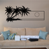 Palm Trees And Sunset Wall Decal - Vinyl Decal - Car Decal - Business Sign - MC123