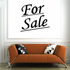 For Sale Wall Decal - Vinyl Decal - Car Decal - Business Sign - MC148