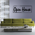 Open House Wall Decal - Vinyl Decal - Car Decal - Business Sign - MC151