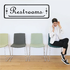 Restrooms Wall Decal - Vinyl Decal - Car Decal - Business Sign - MC154