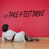 Take A Test Drive Wall Decal - Vinyl Decal - Car Decal - Business Sign - MC178