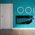 Hall Of Fame Wall Decal - Vinyl Decal - Car Decal - Business Sign - MC186
