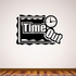 Time Out Wall Decal - Vinyl Decal - Car Decal - Business Sign - MC196
