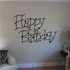 Happy Birthday Wall Decal - Vinyl Decal - Car Decal - Business Sign - MC218