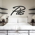 Pies Wall Decal - Vinyl Decal - Car Decal - Business Sign - MC247