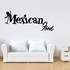 Mexican Food Wall Decal - Vinyl Decal - Car Decal - Business Sign - MC250