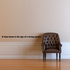 A clean house is the sign of a boring person Wall Decal