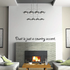 Dust is just a country accent Wall Decal
