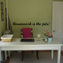 Housework is the pits Wall Decal