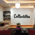 Collectibles Wall Decal - Vinyl Decal - Car Decal - Business Sign - MC284