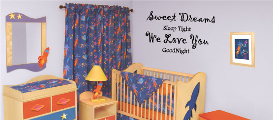Nursery Quote Decals