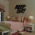 Keep Out Wall Decal - Vinyl Decal - Car Decal - Business Sign - MC327
