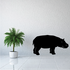 Grazing Hippo Decal