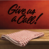 Give Us A Call Wall Decal - Vinyl Decal - Car Decal - Business Sign - MC339