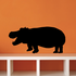 Open Mouth Hippo Decal