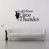 In All Things Give Thanks Decal