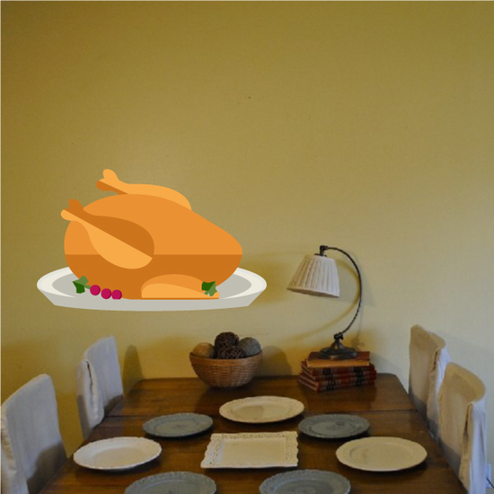 Cooked Turkey Dinner Sticker
