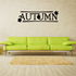 Autumn Leaves Fall Decal