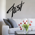 Fast Wall Decal - Vinyl Decal - Car Decal - Business Sign - MC490