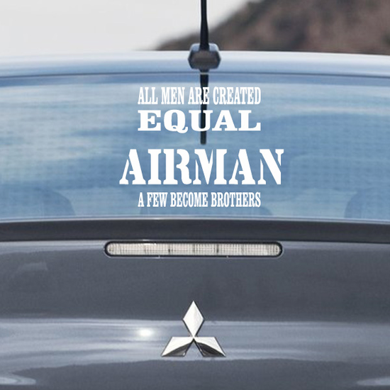Air Force Brothers Car Decal