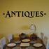 Antiques Wall Decal - Vinyl Decal - Car Decal - Business Sign - MC508