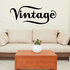 Vintage Wall Decal - Vinyl Decal - Car Decal - Business Sign - MC531