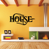 House Wall Decal - Vinyl Decal - Car Decal - Business Sign - MC548