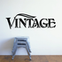 Vintage Wall Decal - Vinyl Decal - Car Decal - Business Sign - MC558