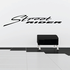 Streeet Rider Wall Decal - Vinyl Decal - Car Decal - Business Sign - MC565
