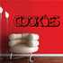 Cookies Wall Decal - Vinyl Decal - Car Decal - Business Sign - MC586