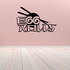 Egg Rolls Wall Decal - Vinyl Decal - Car Decal - Business Sign - MC590