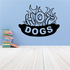 Hot Dogs Wall Decal - Vinyl Decal - Car Decal - Business Sign - MC593