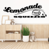 Lemonade Fresh Squeezed Wall Decal - Vinyl Decal - Car Decal - Business Sign - MC594