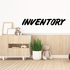 Inventory Wall Decal - Vinyl Decal - Car Decal - Business Sign - MC616