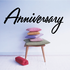 Anniversary Wall Decal - Vinyl Decal - Car Decal - Business Sign - MC633