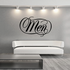 Men Wall Decal - Vinyl Decal - Car Decal - Business Sign - MC646