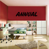 Annual Wall Decal - Vinyl Decal - Car Decal - Business Sign - MC658